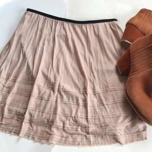 Lauren Conrad skirt black and taupe Small